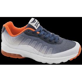 Дамски маратонки - висококачествен текстилен материал - сини - EO-10306
