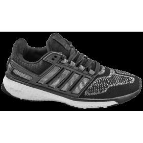 Юношески маратонки - висококачествен текстилен материал - черни - EO-10335