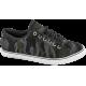 Спортни мъжки обувки - висококачествен текстилен материал - черни - EO-10223
