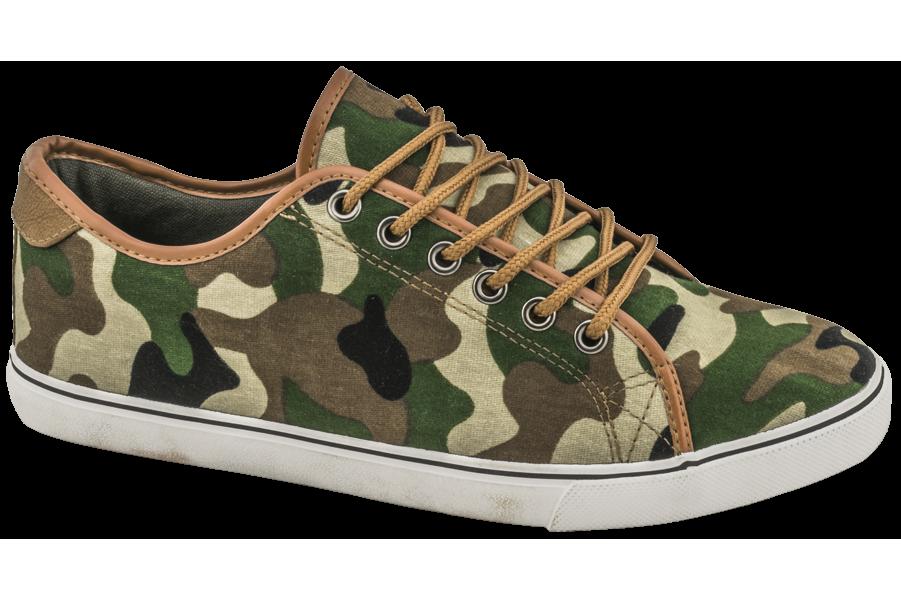 Спортни мъжки обувки - висококачествен текстилен материал - зелени - EO-10224