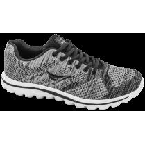 Мъжки маратонки - висококачествен текстилен материал - сиви - EO-10251