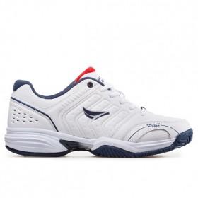 Мъжки маратонки - висококачествена еко-кожа - бели - EO-11473