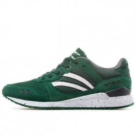 Мъжки маратонки - висококачествен еко-велур - зелени - EO-11437