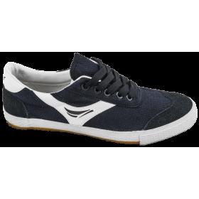 Юношески маратонки - висококачествен текстилен материал - сини - EO-10321