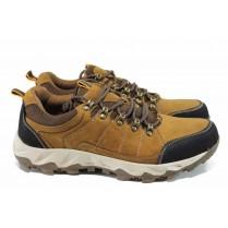 Мъжки обувки - естествена кожа - кафяви - EO-11195
