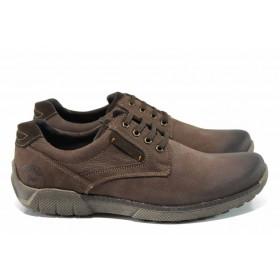 Мъжки обувки - естествена кожа - кафяви - EO-11315