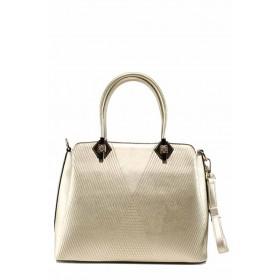 Дамска чанта - висококачествена еко-кожа - бежови - EO-12301