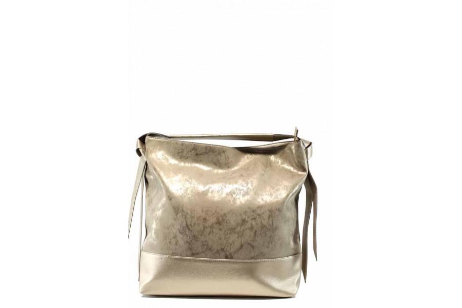 Дамска чанта - висококачествена еко-кожа - жълти - EO-12443