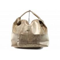 Дамска чанта - висококачествена еко-кожа - жълти - EO-12688