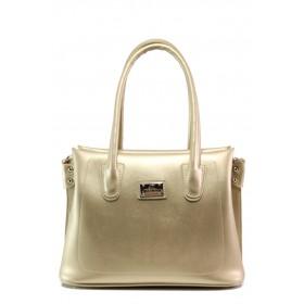 Дамска чанта - висококачествена еко-кожа - жълти - EO-13433