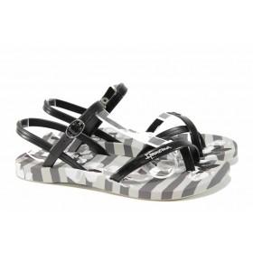 Дамски сандали - висококачествен pvc материал - сиви - EO-12581