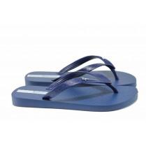Мъжки чехли - висококачествен pvc материал - сини - EO-12597