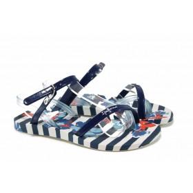 Детски сандали - висококачествен pvc материал - сини - EO-12620