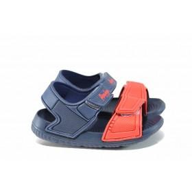 Детски сандали - висококачествен pvc материал - сини - EO-12717