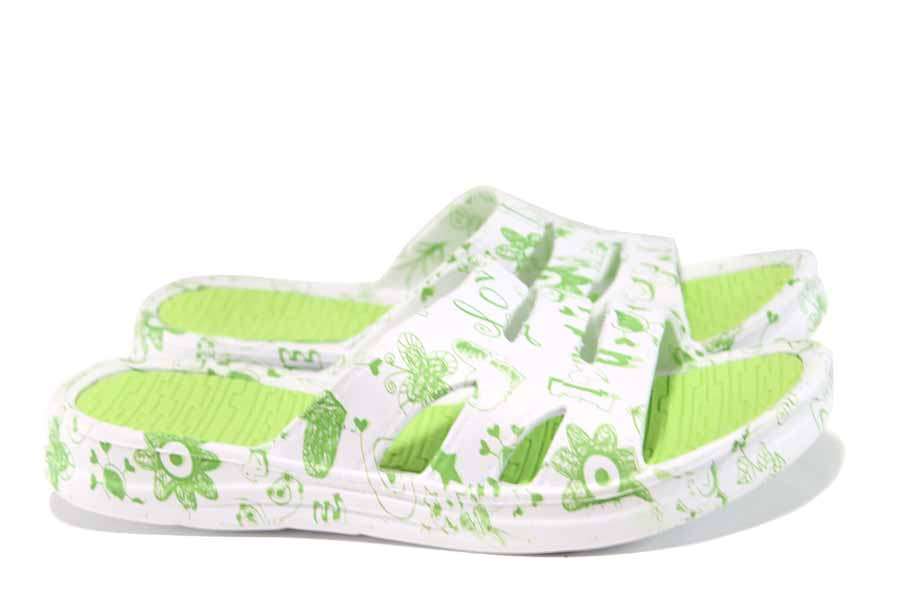 Джапанки - висококачествен pvc материал - зелени - EO-12867