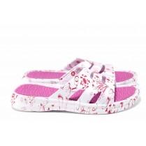 Джапанки - висококачествен pvc материал - розови - EO-12868