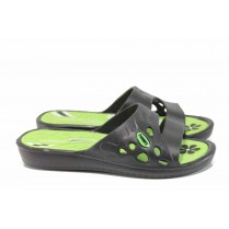Джапанки - висококачествен pvc материал - зелени - EO-12866