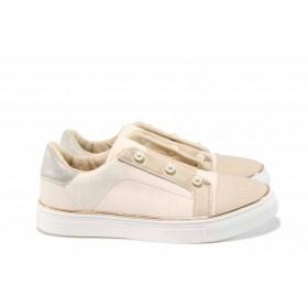 Детски обувки - висококачествена еко-кожа - розови - EO-12537