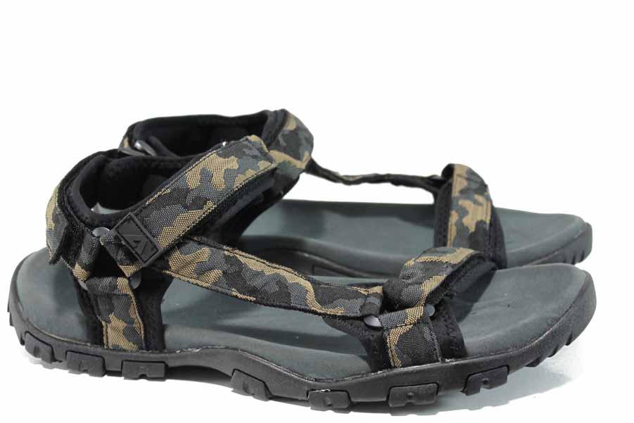 Мъжки сандали - висококачествен текстилен материал - всички цветове - EO-12684