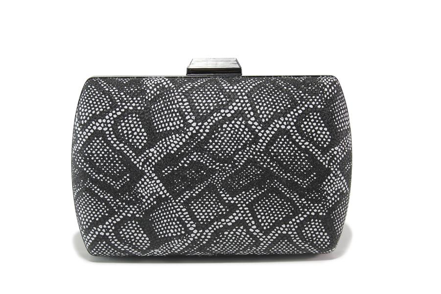 Елегантна дамска чанта - висококачествена еко-кожа - черни - EO-13582