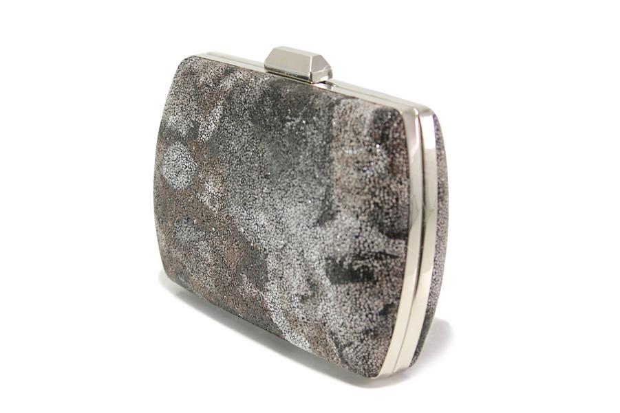 Елегантна дамска чанта - висококачествена еко-кожа - кафяви - EO-13580