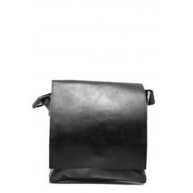 Мъжка чанта - естествена кожа - черни - EO-13978