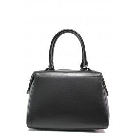 Дамска чанта - висококачествена еко-кожа - черни - EO-14613