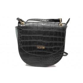 Дамска чанта - висококачествена еко-кожа - черни - EO-14621