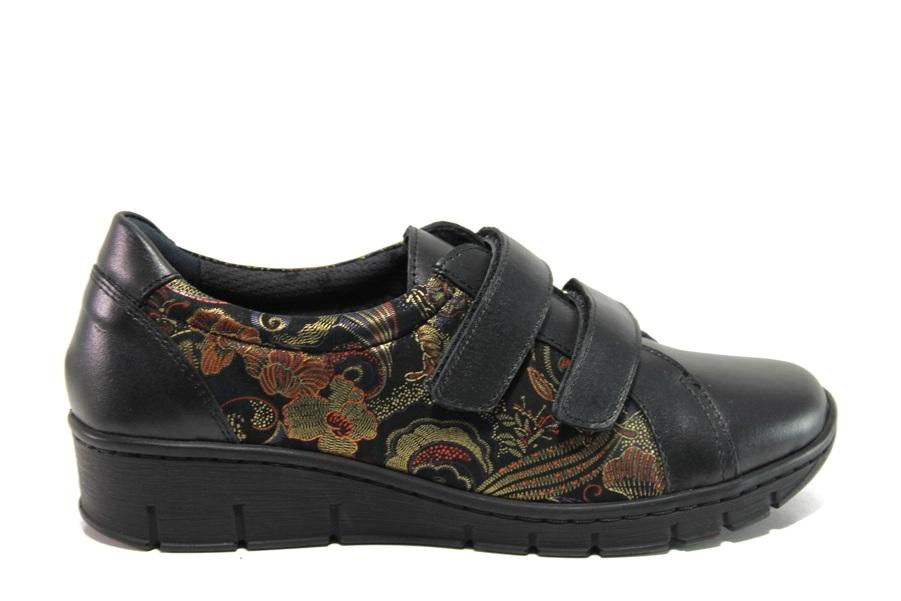 Равни дамски обувки - естествена кожа - жълти - EO-14322