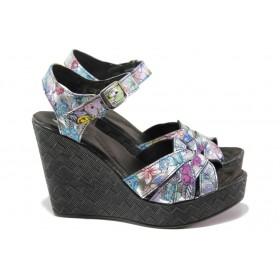 Дамски сандали - естествена кожа - всички цветове - EO-14208