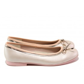 Детски обувки - висококачествена еко-кожа - розови - EO-13909