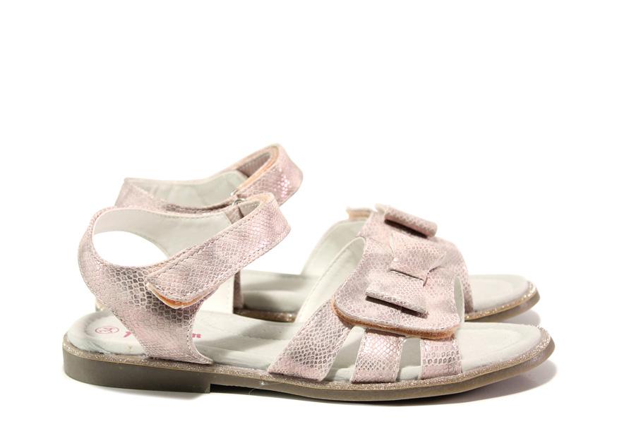 Детски сандали - висококачествена еко-кожа - розови - EO-14183