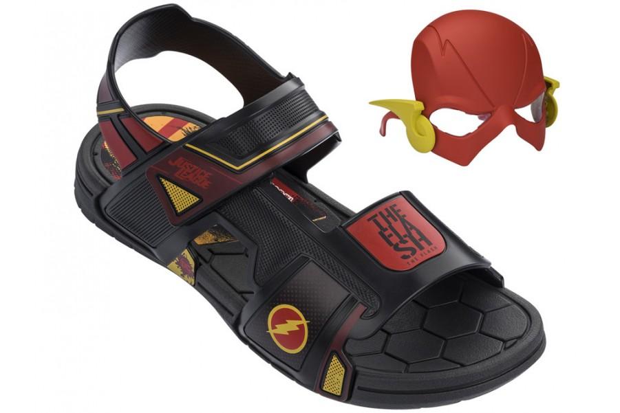 Детски сандали - висококачествен pvc материал - черни - EO-14234