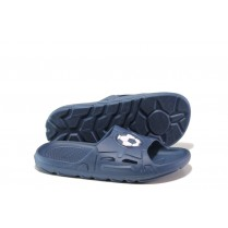 Джапанки - висококачествен pvc материал - сини - EO-13960