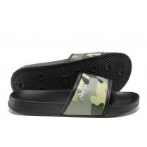 Джапанки - висококачествен pvc материал - зелени - EO-14045