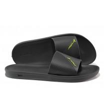 Мъжки чехли - висококачествен pvc материал - черни - EO-14144