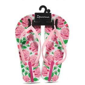 Дамски чехли - висококачествен pvc материал - розови - EO-14116
