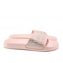 Джапанки - висококачествен pvc материал - розови - EO-14159