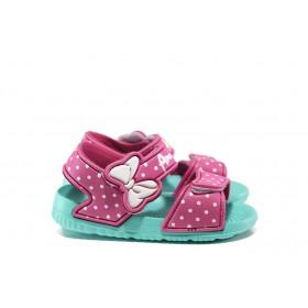 Детски сандали - висококачествен pvc материал - розови - EO-14173