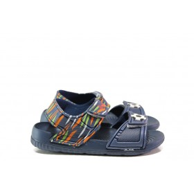 Детски сандали - висококачествен pvc материал - сини - EO-14175