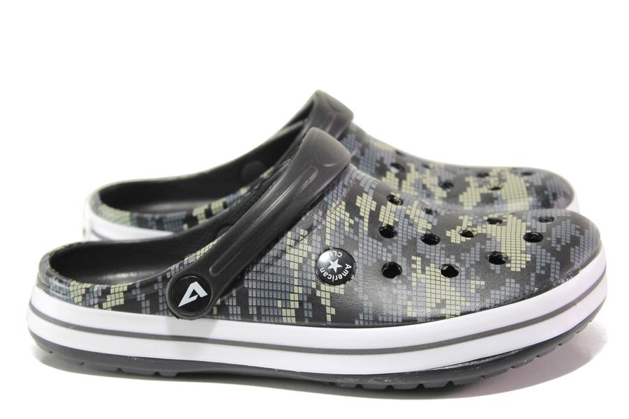 Дамски чехли - висококачествен pvc материал - сиви - EO-14218