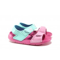 Детски сандали - висококачествен pvc материал - розови - EO-14213
