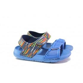 Детски сандали - висококачествен pvc материал - светлосин - EO-14215