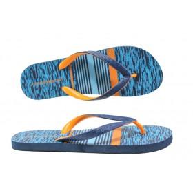 Джапанки - висококачествен pvc материал - сини - EO-14250