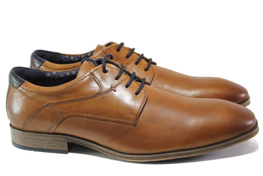 Мъжки обувки - естествена кожа - кафяви - EO-13515
