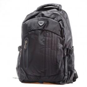 Раница - висококачествен текстилен материал - черни - EO-17391