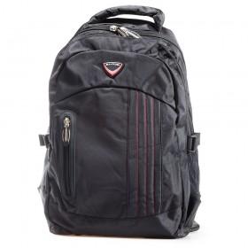 Раница - висококачествен текстилен материал - черни - EO-17411