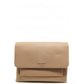 Дамска чанта - висококачествена еко-кожа - бежови - EO-15134