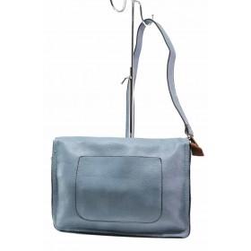 Дамска чанта - висококачествена еко-кожа - сини - EO-15500