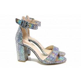 Дамски сандали - висококачествена еко-кожа - всички цветове - EO-15641